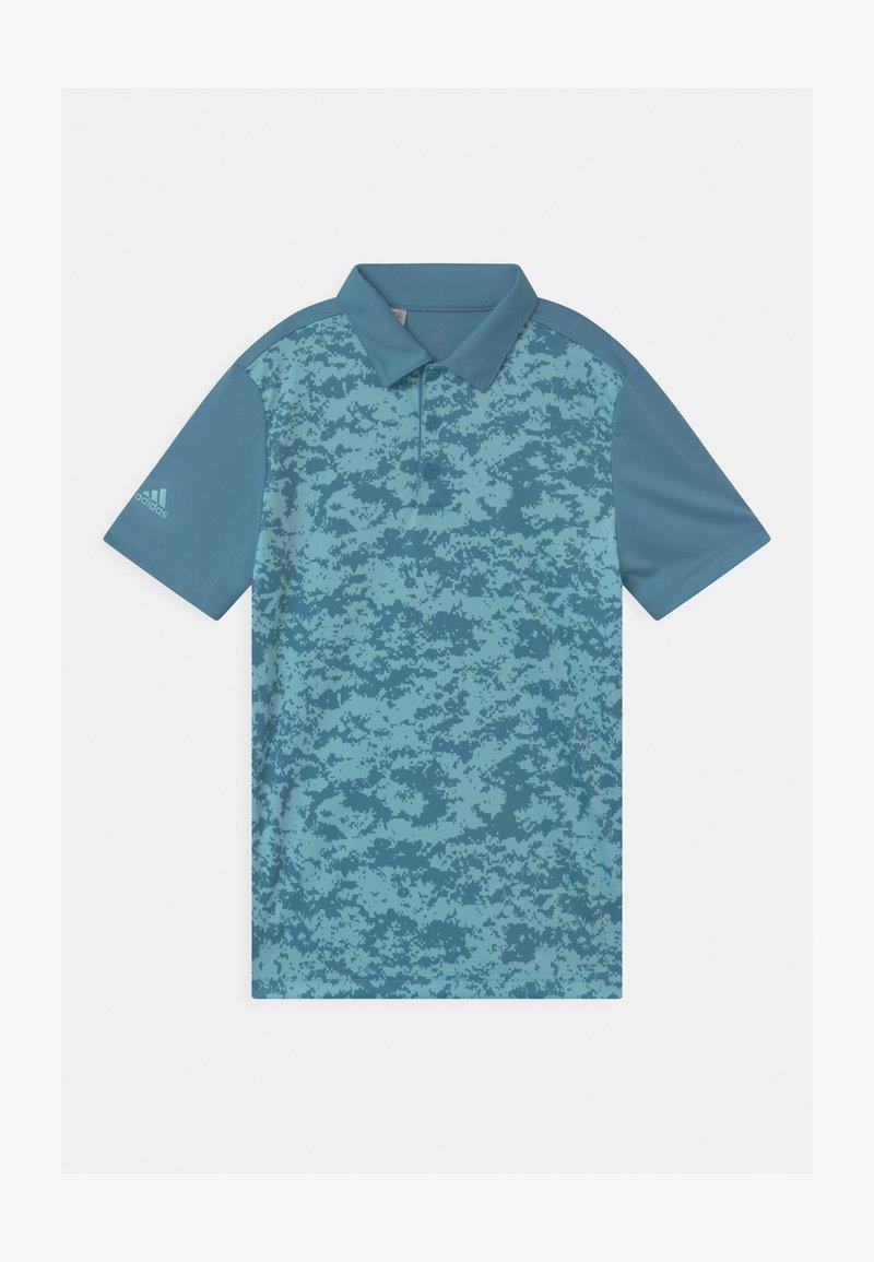 adidas Golf - DIGITAL CAMO UNISEX - Poloshirt - hazy blue