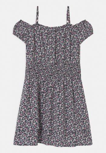 SMOCKED WAIST  - Day dress - NAVY