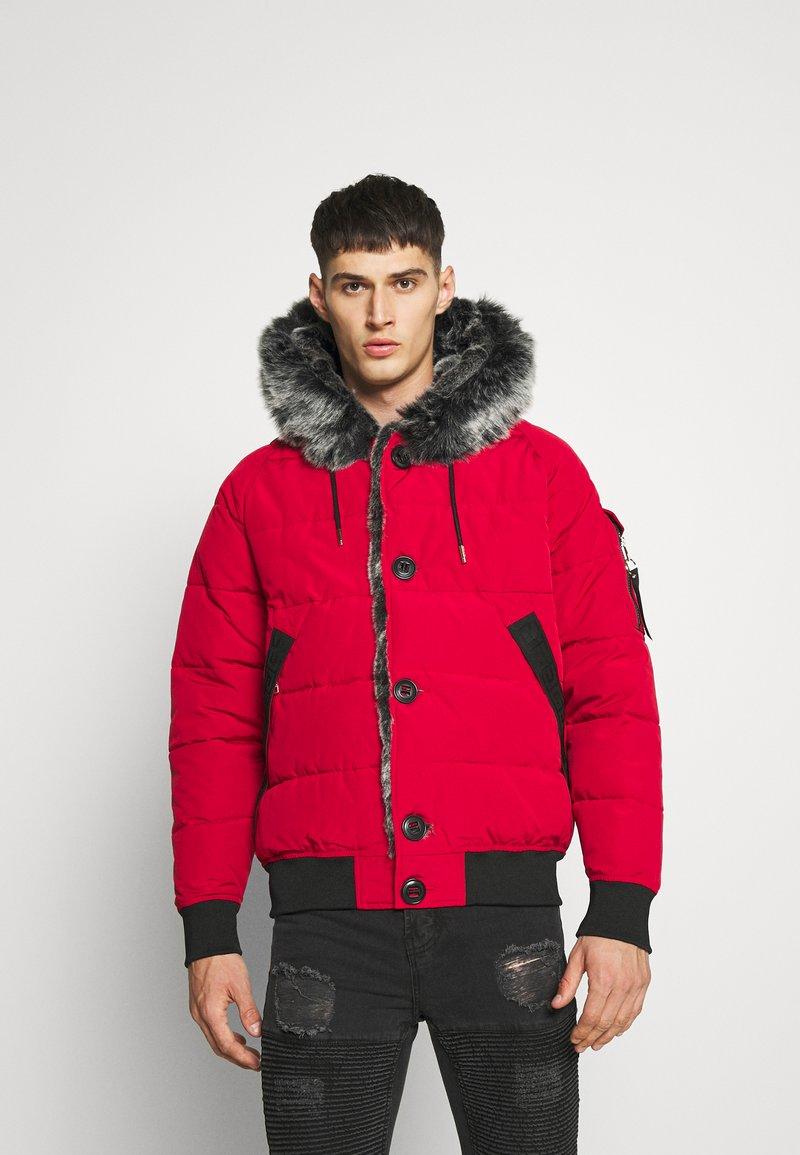 Glorious Gangsta - NAVIER - Zimní bunda - red