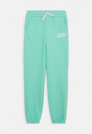 GIRL ARCH CINCH - Tracksuit bottoms - aqua tide