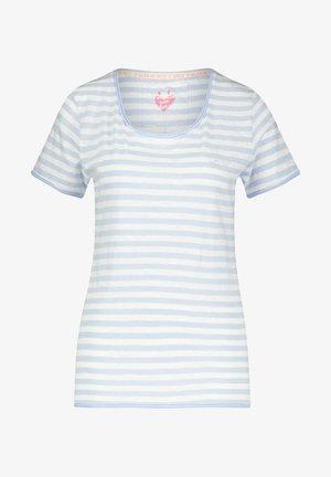 Print T-shirt - bleached