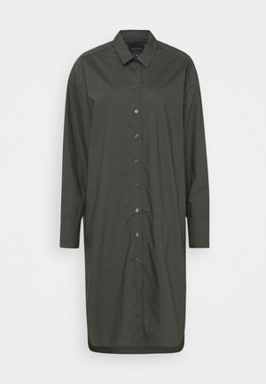 NILLY DRESS - Shirt dress - dark army