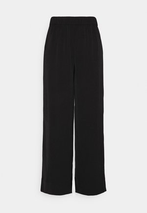 ONLGISELA GUSTAVA WIDE PANT  - Trousers - black