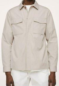 Mango - À POCHES - Summer jacket - beige - 3