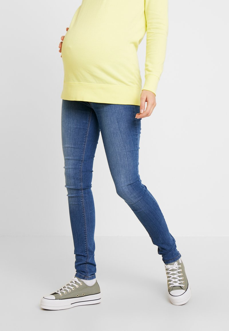 Esprit Maternity - Jeggings - blue medium washed