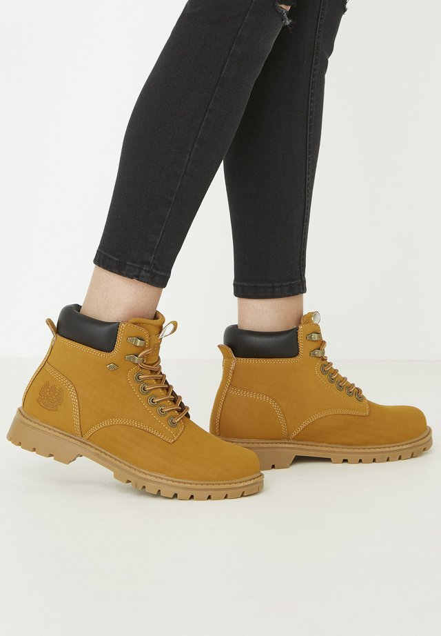 SNEAKER SECCO - Ankelboots - honey/black