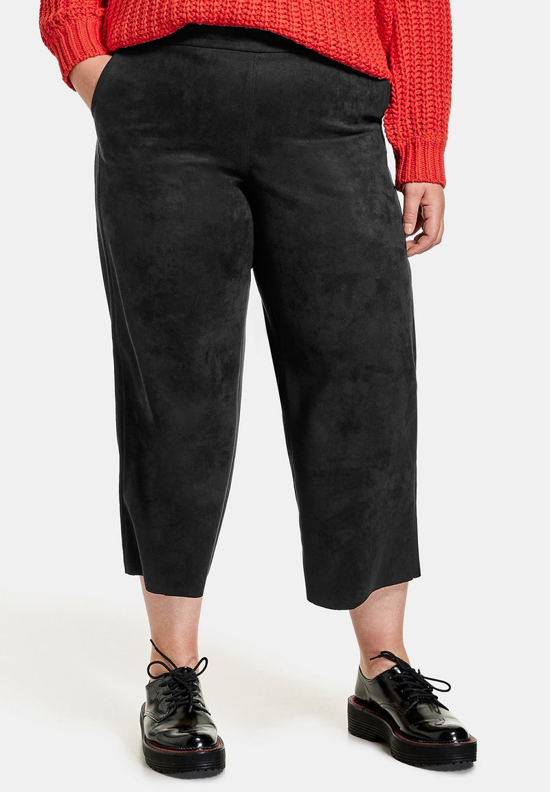 Samoon - Trousers - black