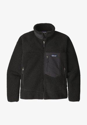 CLASSIC RETRO - Fleece jacket - black in black