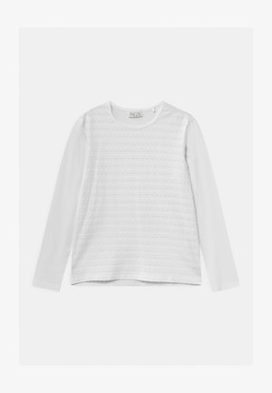 OPER  - Long sleeved top - bright white