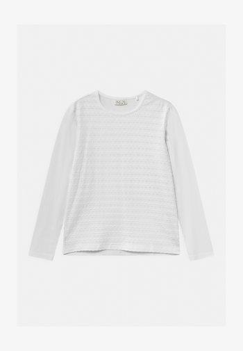OPER  - Maglietta a manica lunga - bright white