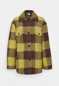 ARKET - Lett jakke - yellow bright - 4