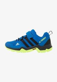 adidas Performance - TERREX AX2R UNISEX - Hiking shoes - glow blue/core black/signal green - 1