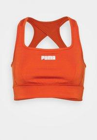 PAMELA REIF X PUMA SQUARE NECK BRA - Medium support sports bra - burnt orchre