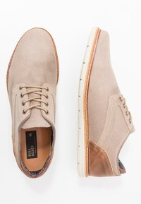 Bullboxer - Casual lace-ups - sand - 1