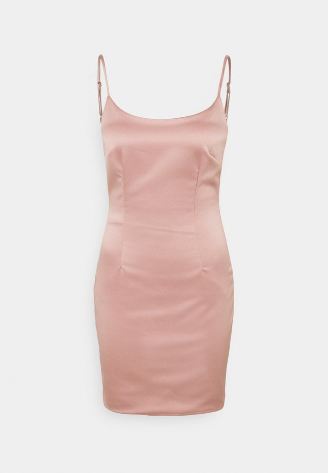 CAMI BODYCON MINI DRESS - Cocktailjurk - pink