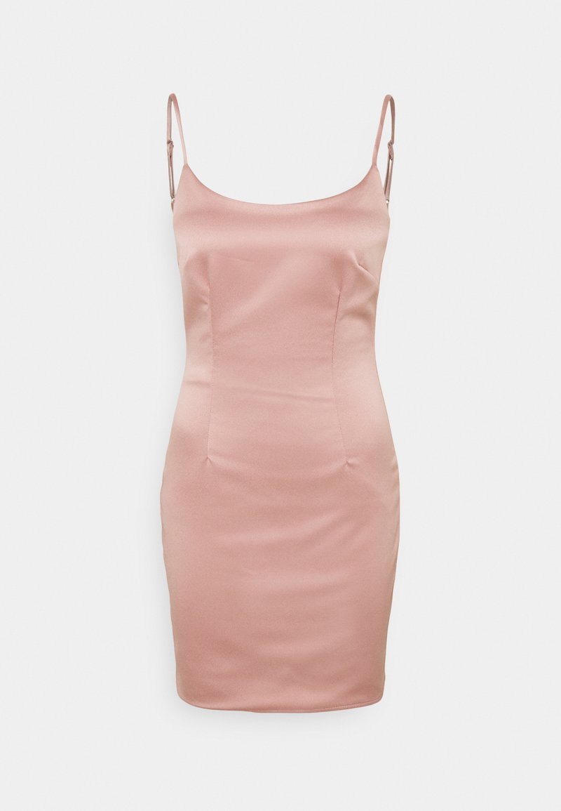 Missguided Petite - CAMI BODYCON MINI DRESS - Cocktail dress / Party dress - pink