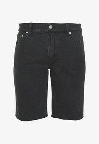 Weekday - SUNDAY  - Jeansshorts - mine black - 0