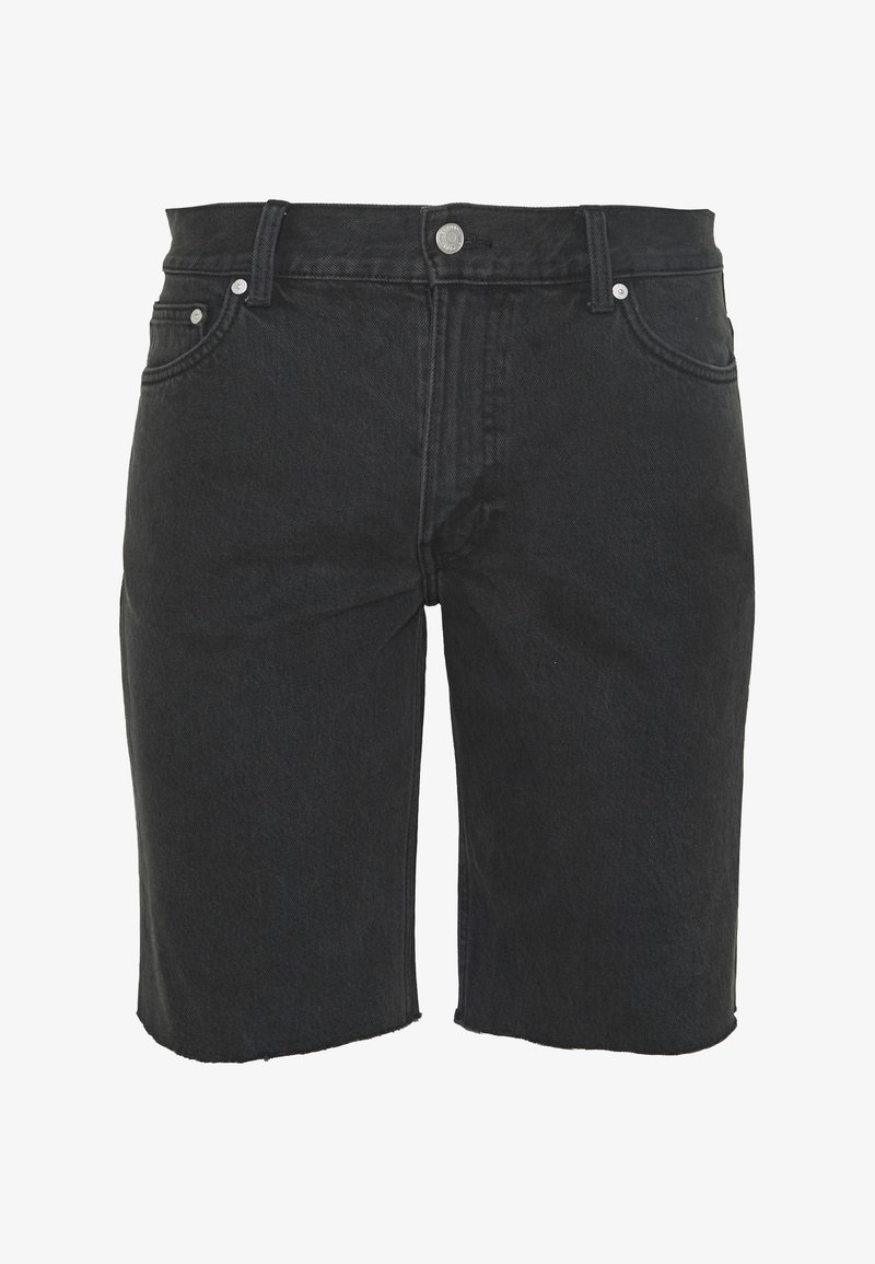 Weekday - SUNDAY  - Jeansshorts - mine black