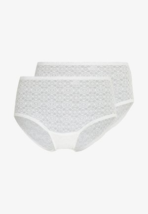 DREAM PANTY 2 PACK - Culotte - snow white