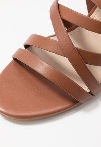 ALDO - DINDILOA - Sandals - cognac - 2