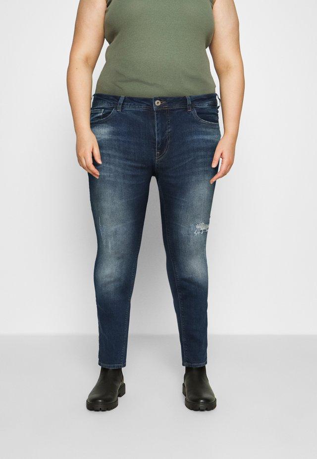 SANNA SHAPE - Skinny džíny - dark blue denim