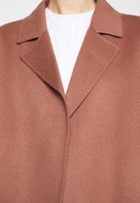 Theory - CLAIRENE LUXE NEW - Classic coat - dark rose - 5
