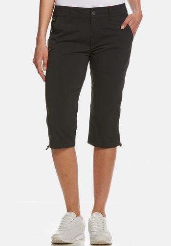 SOPHIA - Długie spodnie trekkingowe - black
