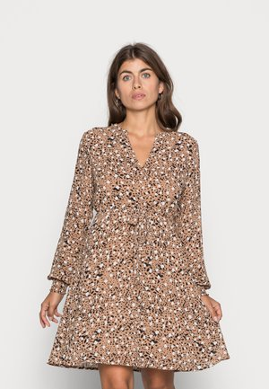 VIADELINE DRESS - Day dress - tigers eye