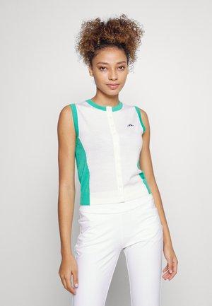 HARPER GOLF - T-shirt sportiva - white
