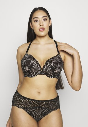 BROOKE BRA - Push-up podprsenka - black