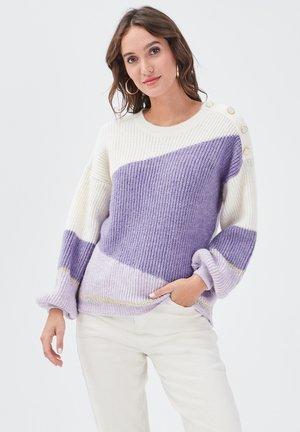 Trui - violet clair