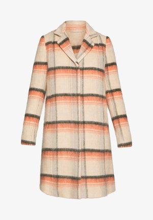 LEONA BRUSHED - Classic coat - bruschetta