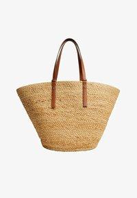 Mango - Shopping Bag - beige - 0
