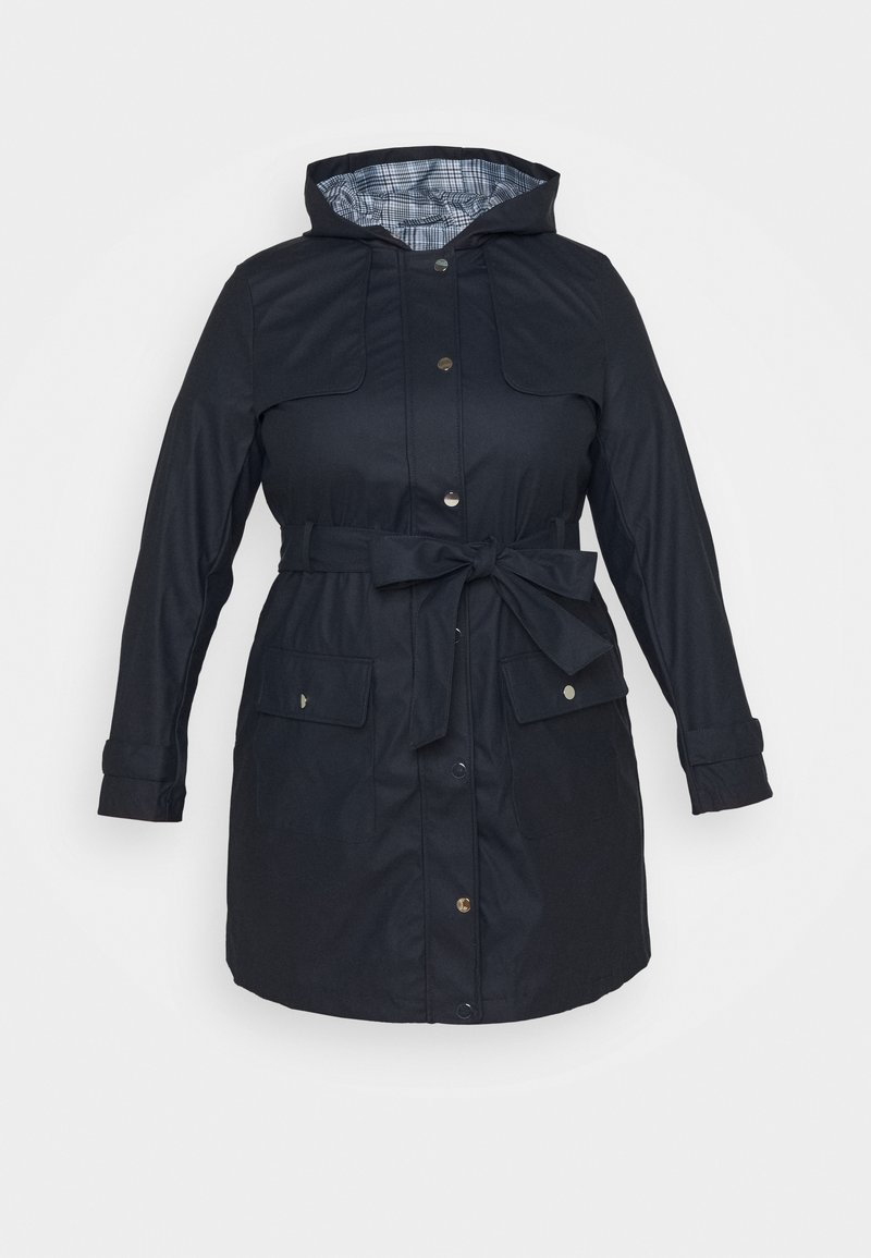 Dorothy Perkins Curve - RAINCOAT - Waterproof jacket - navy
