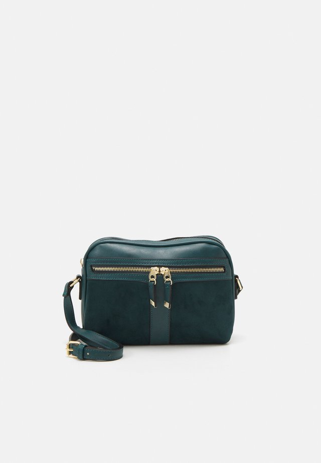 COLLETTE CAMERA BAG - Torba na ramię - teal
