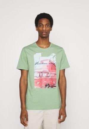 PHOTO PRINT - T-shirt med print - light mint green