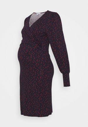 MELISANDRA  - Jersey dress - dark blue