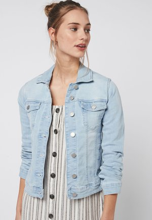 Denim jacket - mottled blue
