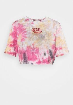 ARIEL - Print T-shirt - tie dye red