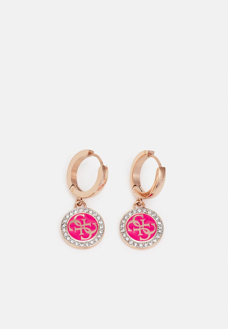 Guess - HOUR - Earrings - rose gold-coloured