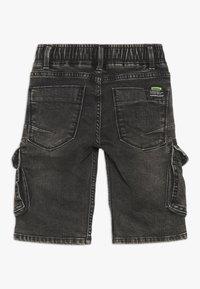 Vingino - CELDO - Denim shorts - dark grey vintage - 1