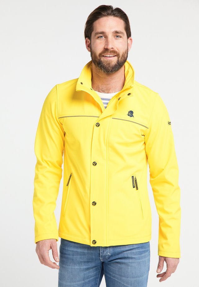 Outdoorová bunda - yellow