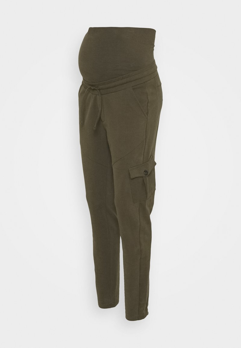 Supermom - PANTS - Tracksuit bottoms - ivy green