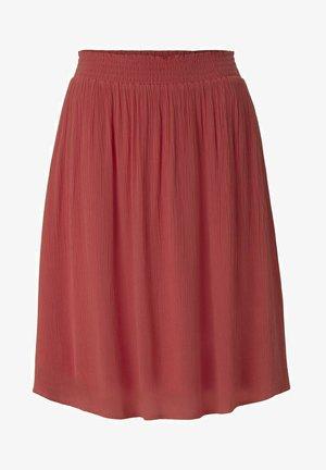 MIT ELASTISCHEM BUND - A-line skirt - flamingo flower