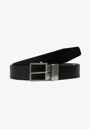 FORMAL BELT  - Cinturón - black/brown