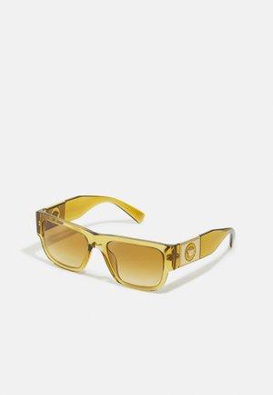 UNISEX - Sunglasses - transparent honey