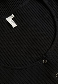 Nly by Nelly - FRONT BUTTON TOP - Cardigan - black - 2