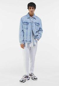 Bershka - Veste en jean - light blue - 1