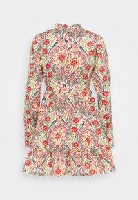 Glamorous - PRAIRIE MINI DRESS WITH RUFFLE  - Day dress - multi-coloured - 1