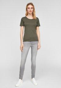 s.Oliver - Basic T-shirt - khaki - 1